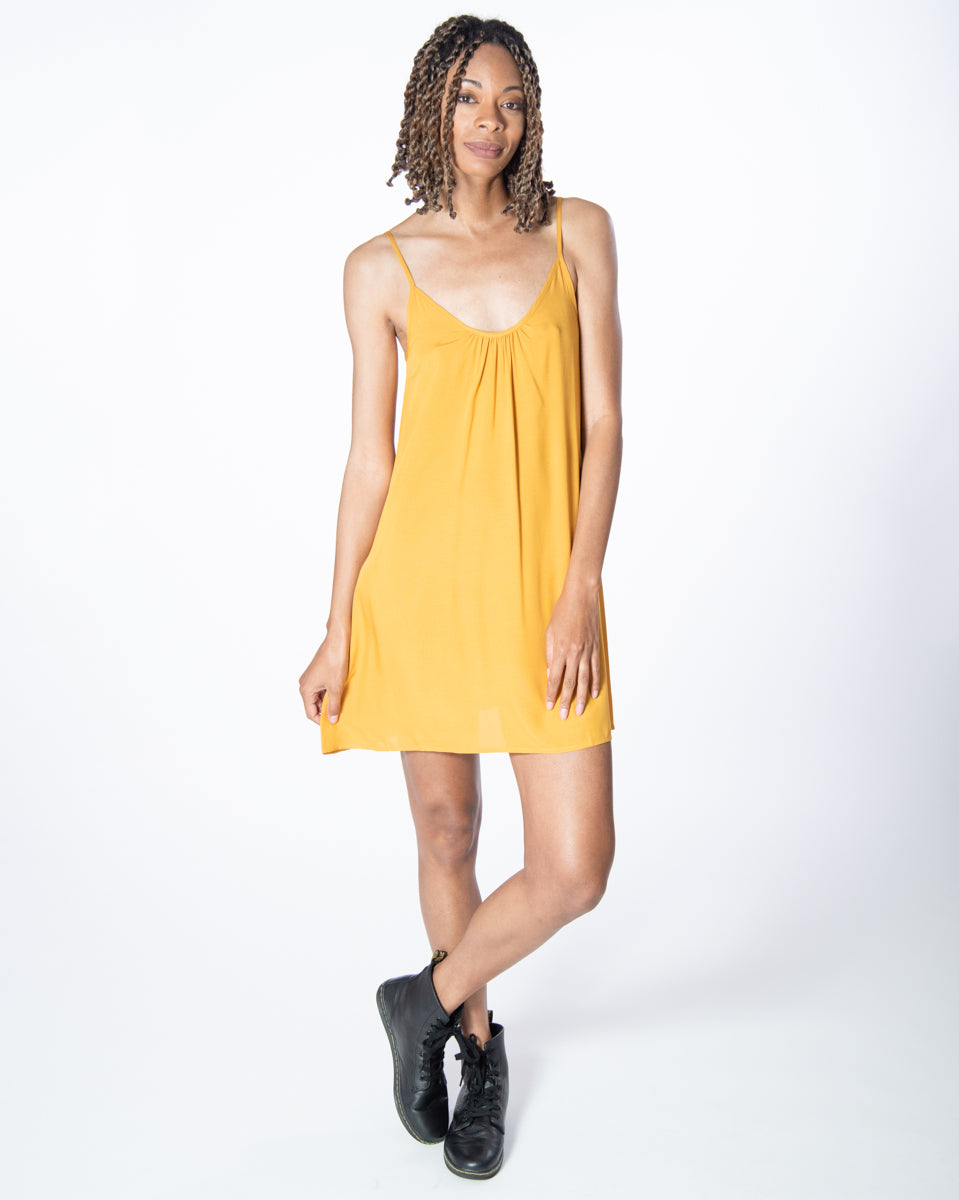 Perfect Dress in Citrine