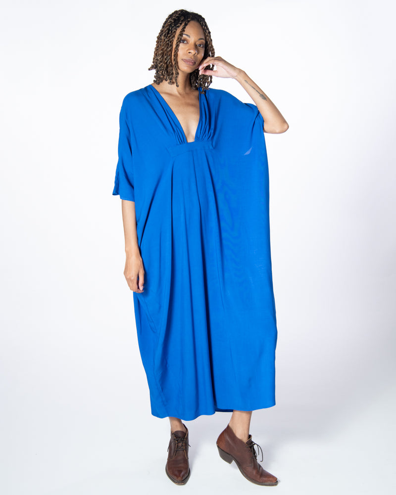 Dali Dress in Majorelle Blue