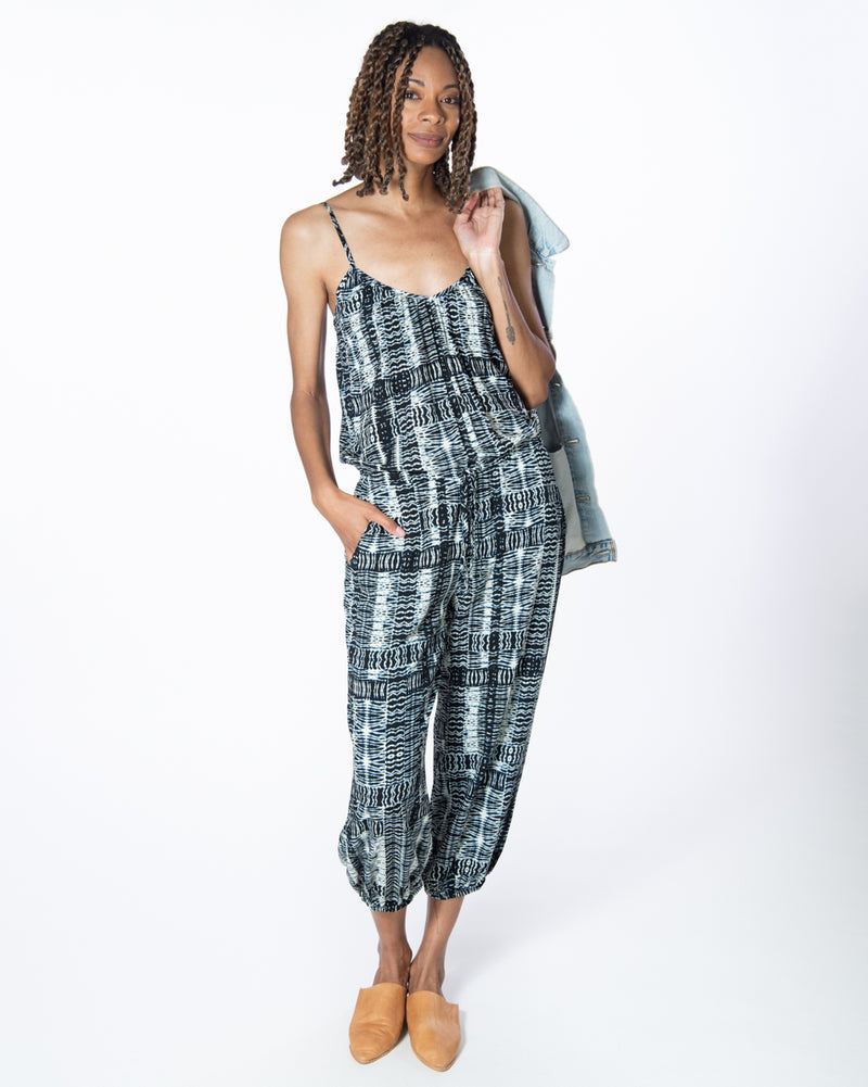 Claudette Jumpsuit in Take Me Everywhere