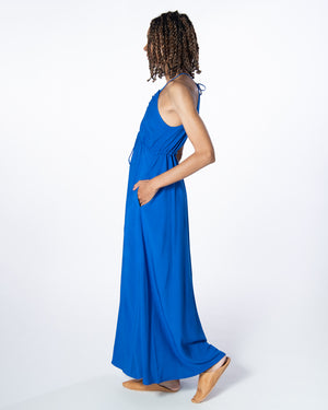 Capri Dress in Majorelle Blue