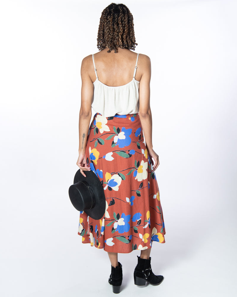 Wrap Skirt in Marrakech
