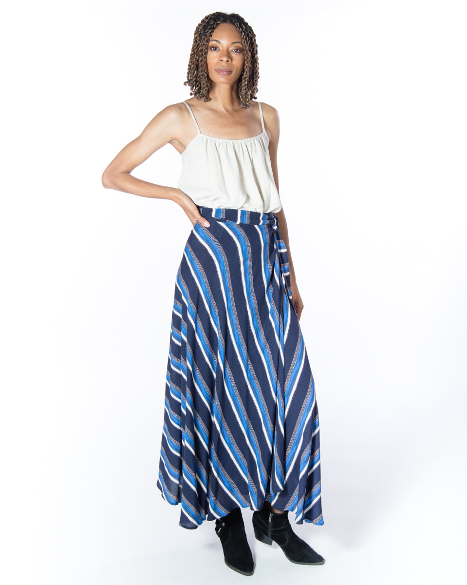 Wrap Skirt in Mykonos