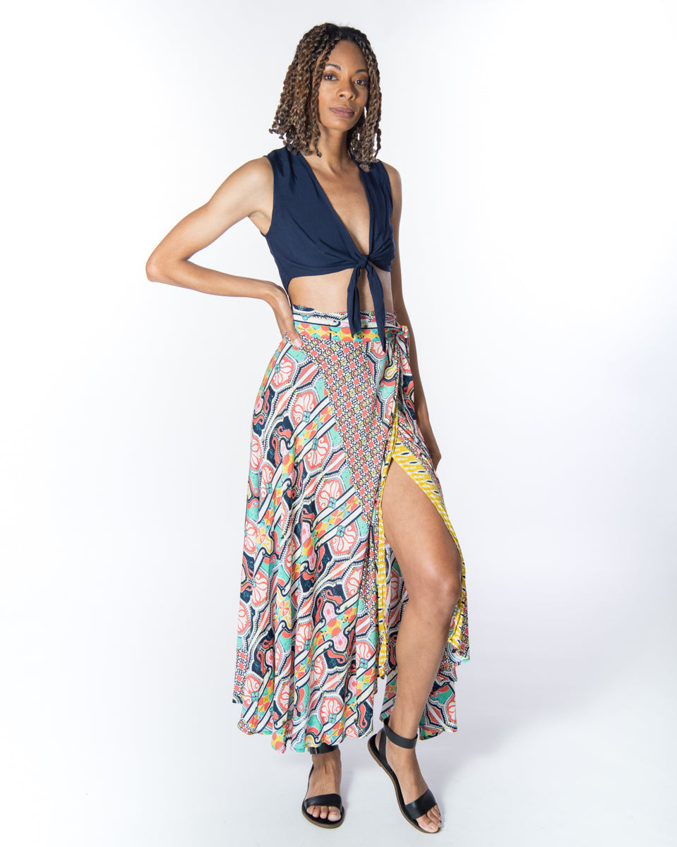 Wrap Skirt in Palace