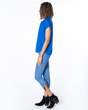 Travel Top in Majorelle Blue