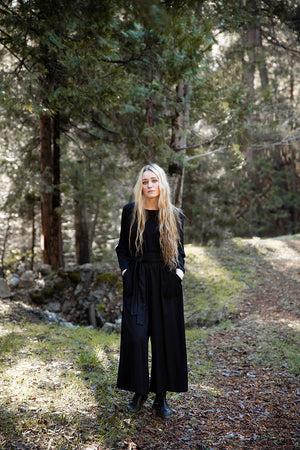 Adventure Jumpsuit in Black