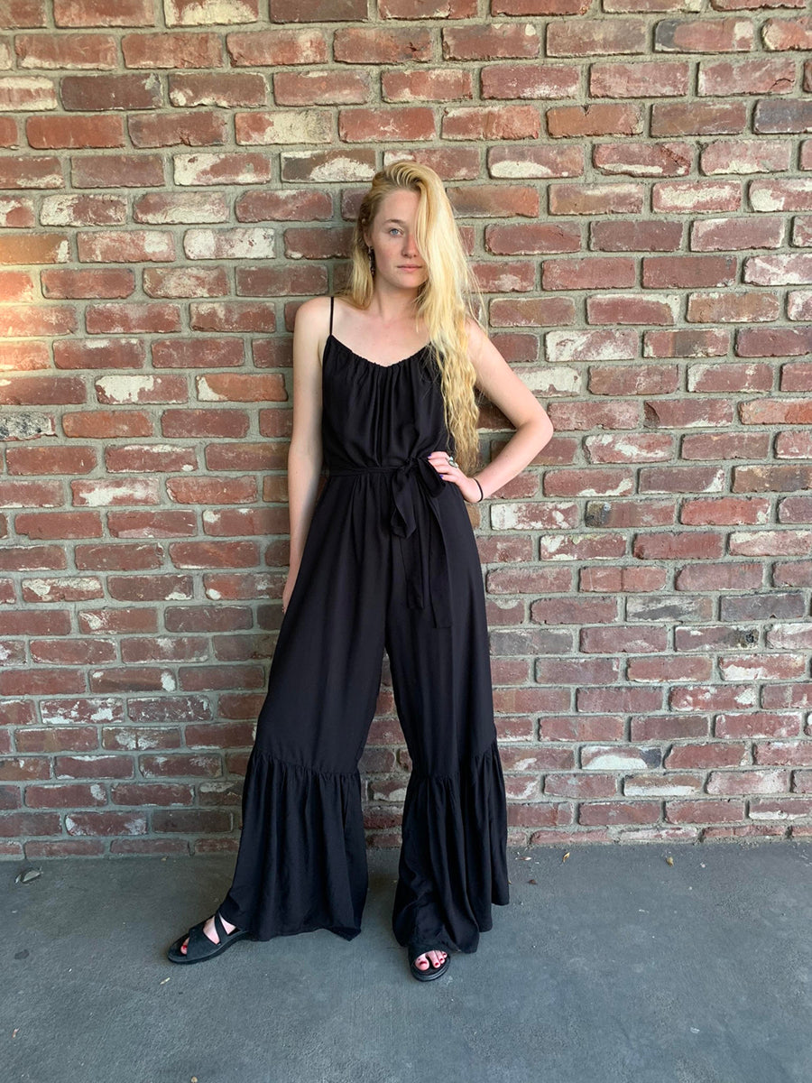 Positano Jumpsuit in Black