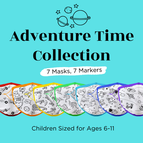 Child Sized (Ages 6-11) Crafty Mask™ | Adventure Time Collection