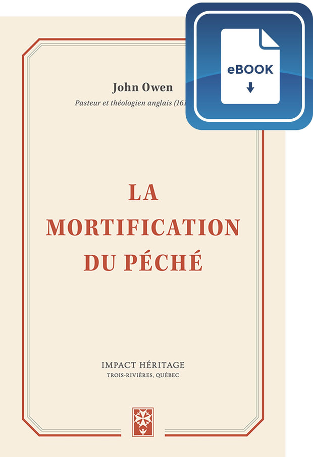 La mortification du péché (eBook)
