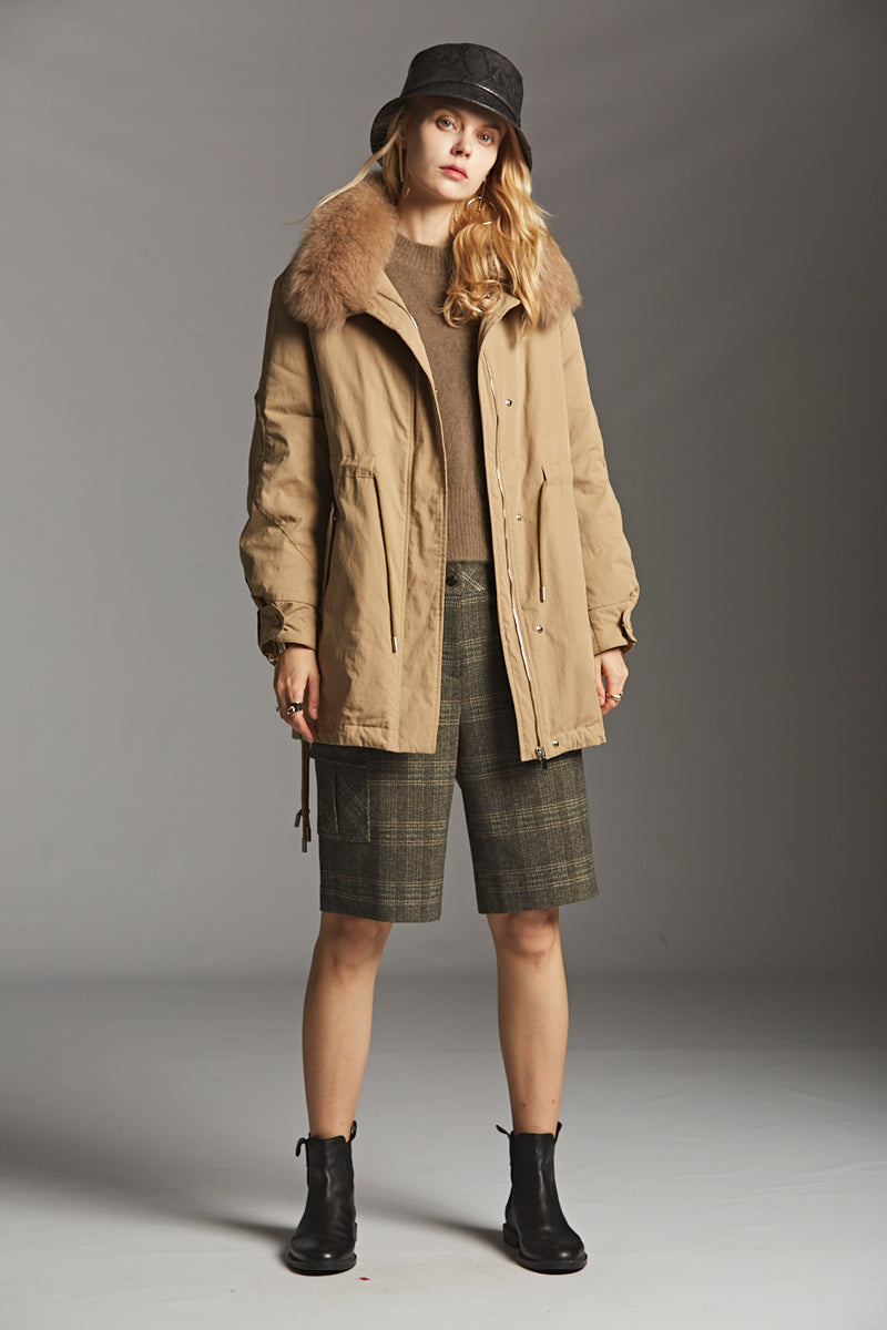 Fur Collar Down Parka