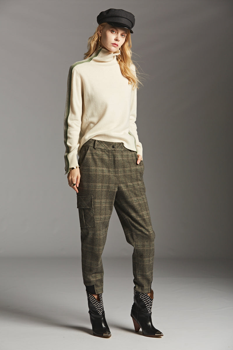 Plaid Cargo Pants