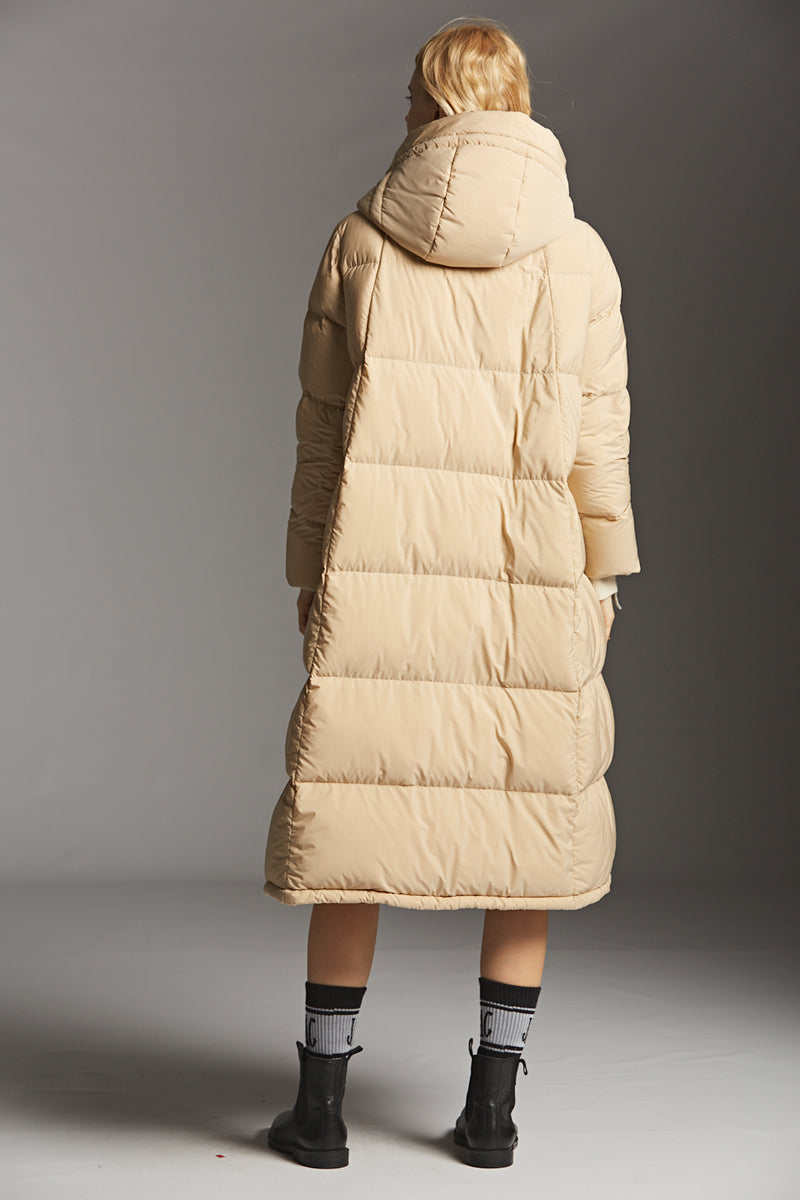 Coccon Long Down Coat