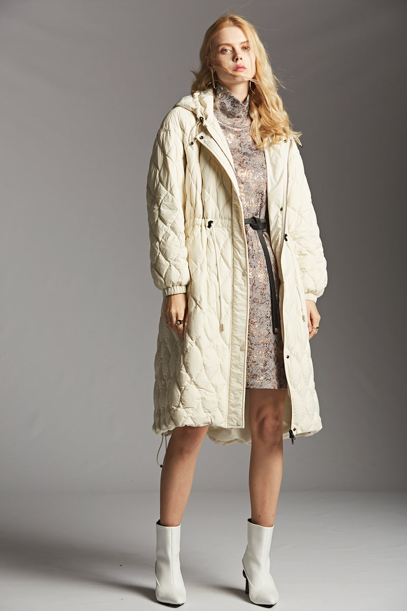 Hooded Down Coat