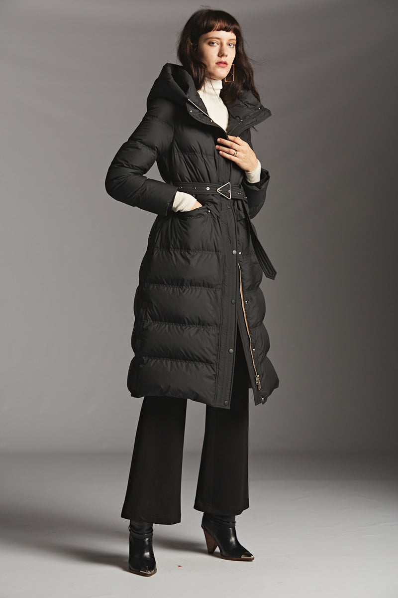 Technical Zipper Down Coat
