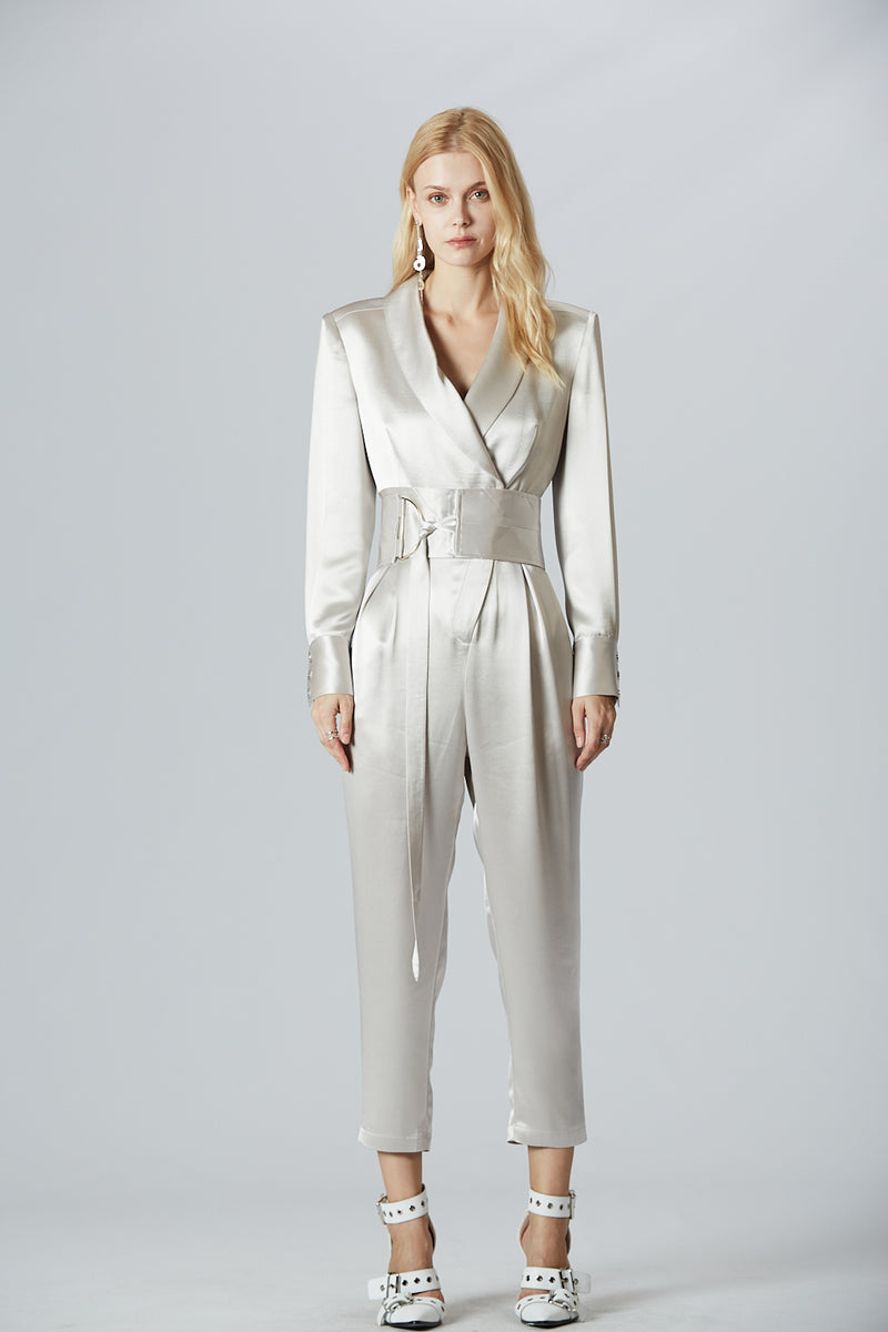 Glossy Trendy Jumpsuit