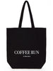 Coffee Run Tote - Black