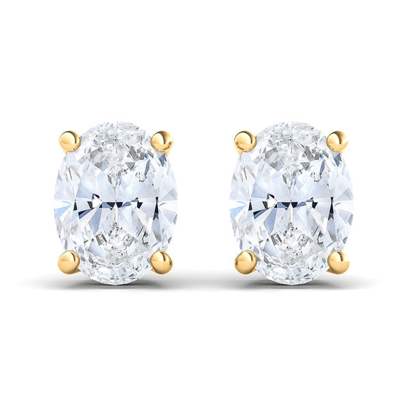 Make each day sparkle with these extraordinary diamond stud earrings! Dazzling with unrivaled brilliance, they bring you a classic glamour and radiance to every moment worth celebrating.
