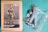 WWII German Infantry - 120mm  1/16 Scale Resin Figure