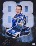 Alex Bowman Signed 2018 NASCAR #88 11x14 Photo