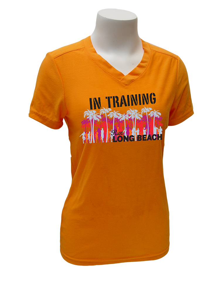 In Training Tangerine or Grey Short Sleeve - Women's