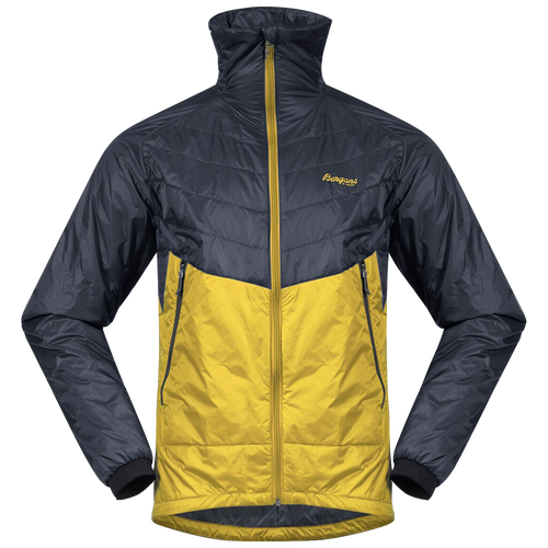 bergans of norway outdoor jacket yellow