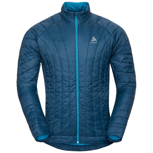 mens blue odlo running jacket