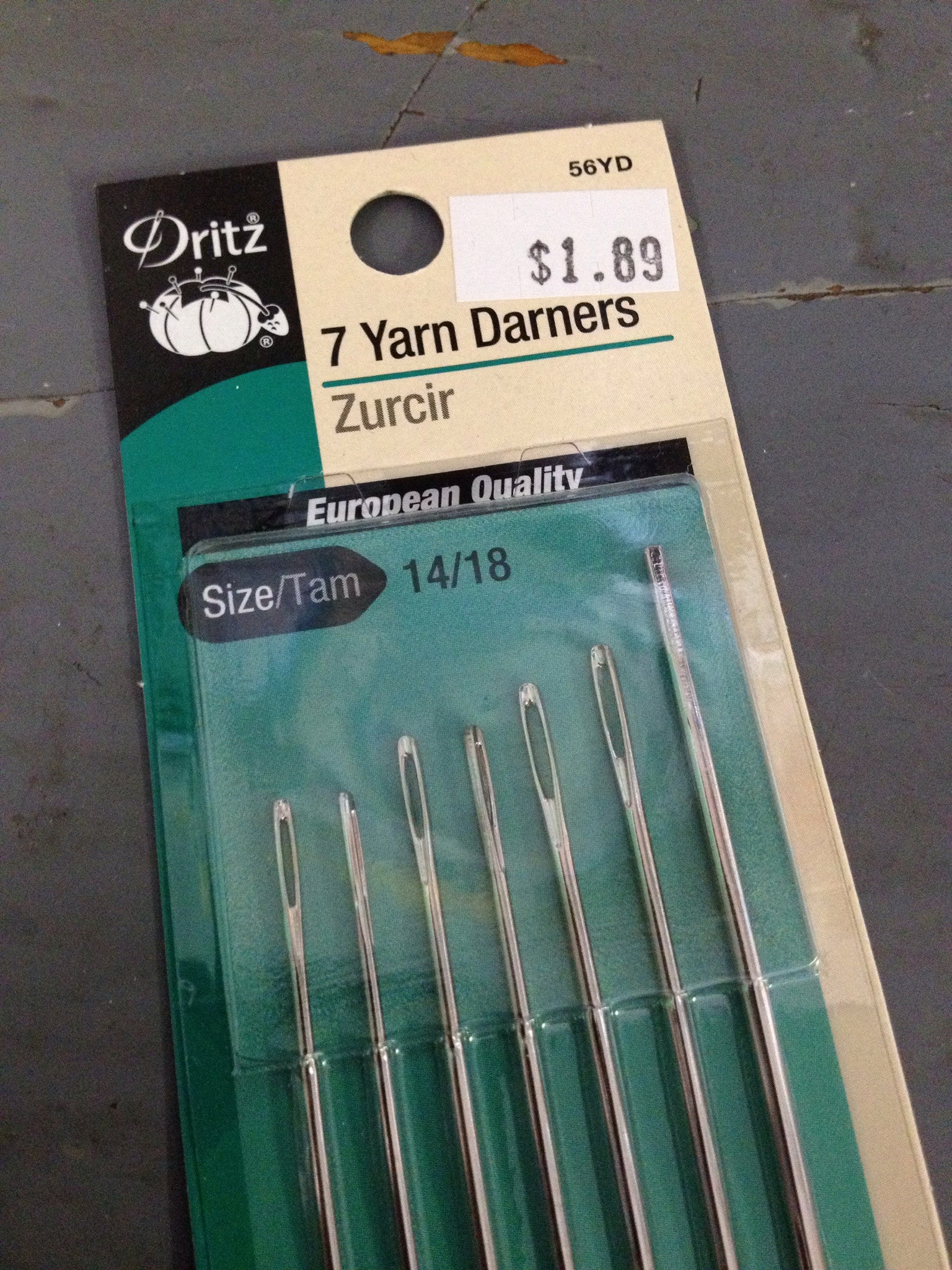 Yarn Darners Needle Set