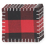 Buffalo Check Coaster Set