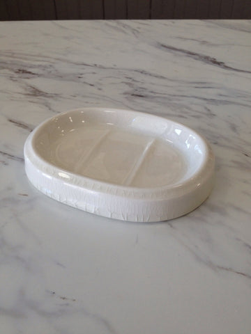 Oval Ceramic Soapdish