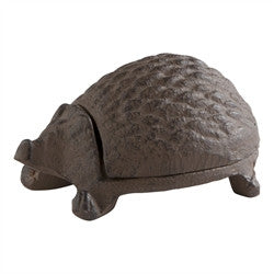 Hedgehog Key Holder, cast iron