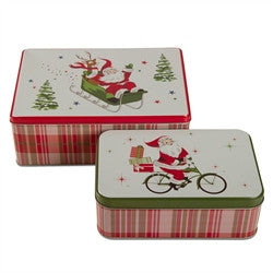 Christmas Tins and Trays