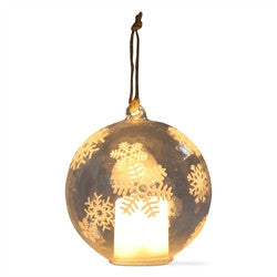 LED Globe Ornaments