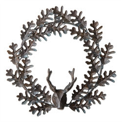 Deer Holiday Wreath