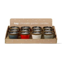 Ceramic Citronella Candles