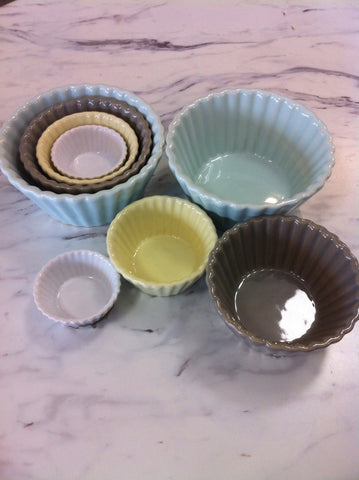 Fluted Bowl Set/4