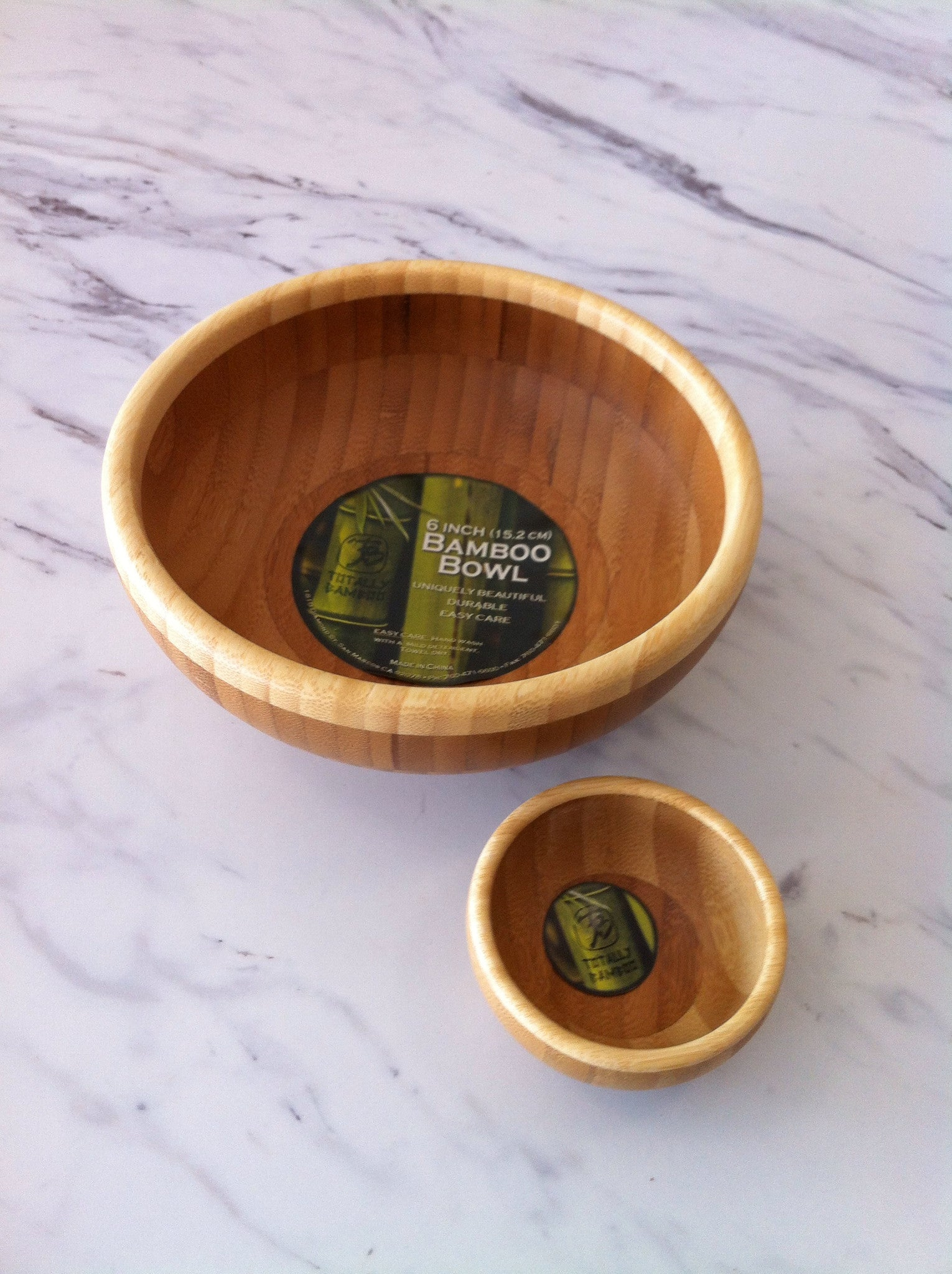 Classic Bamboo Bowls