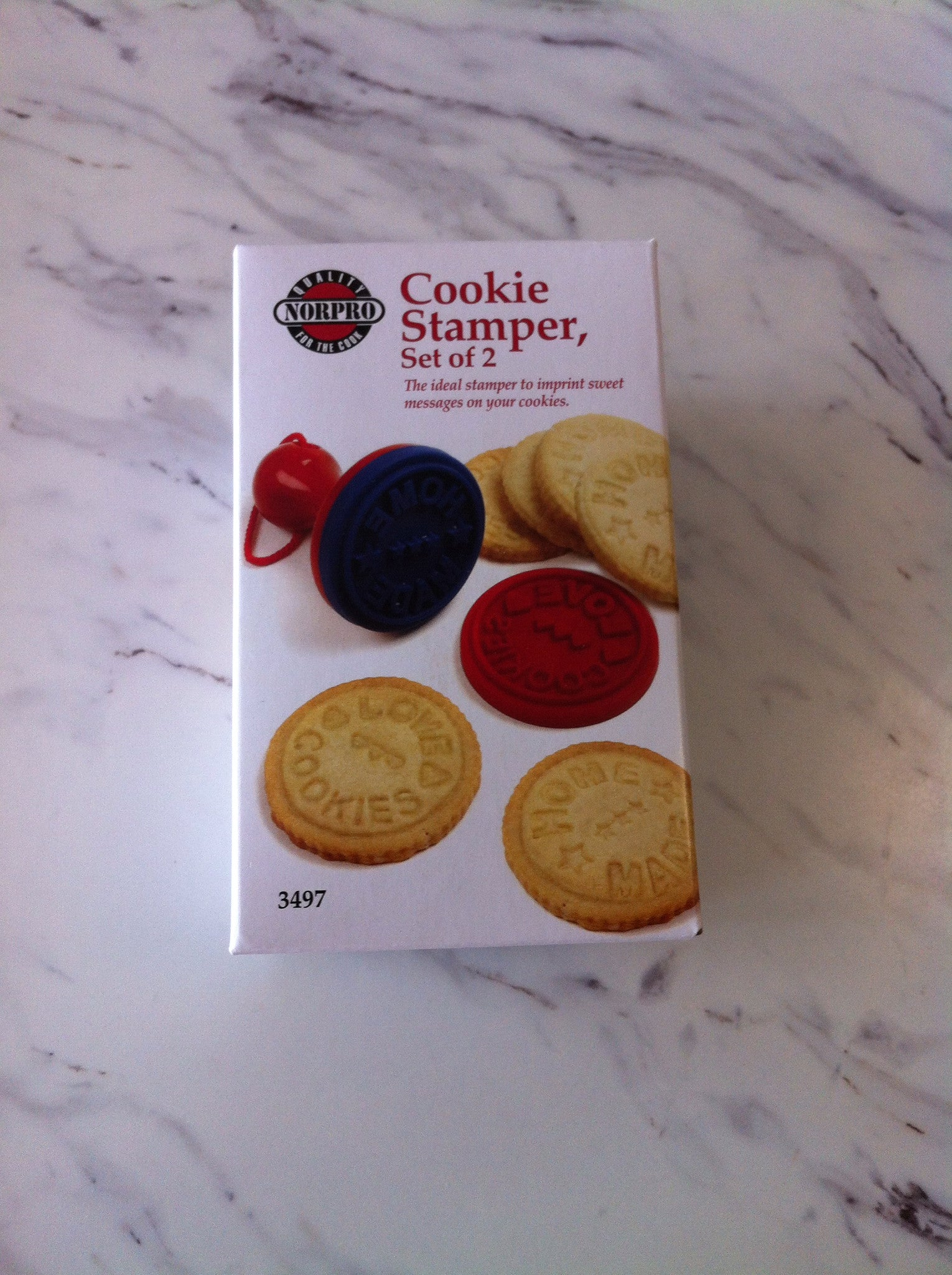 Cookie Stamper, set of 2