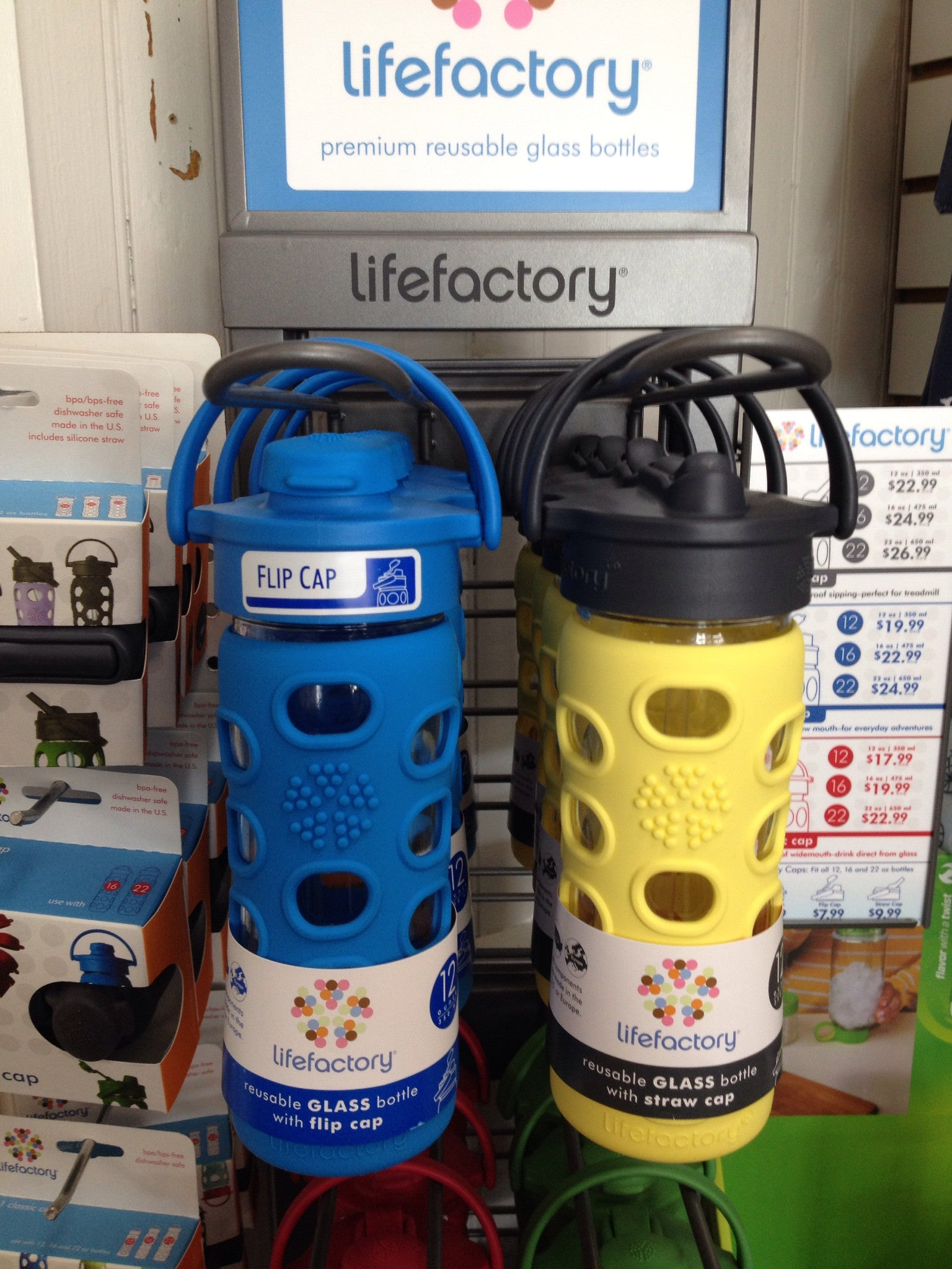 Lifefactory Drinking Bottles