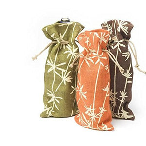 Shoots and Leaves Wine Gift Bag