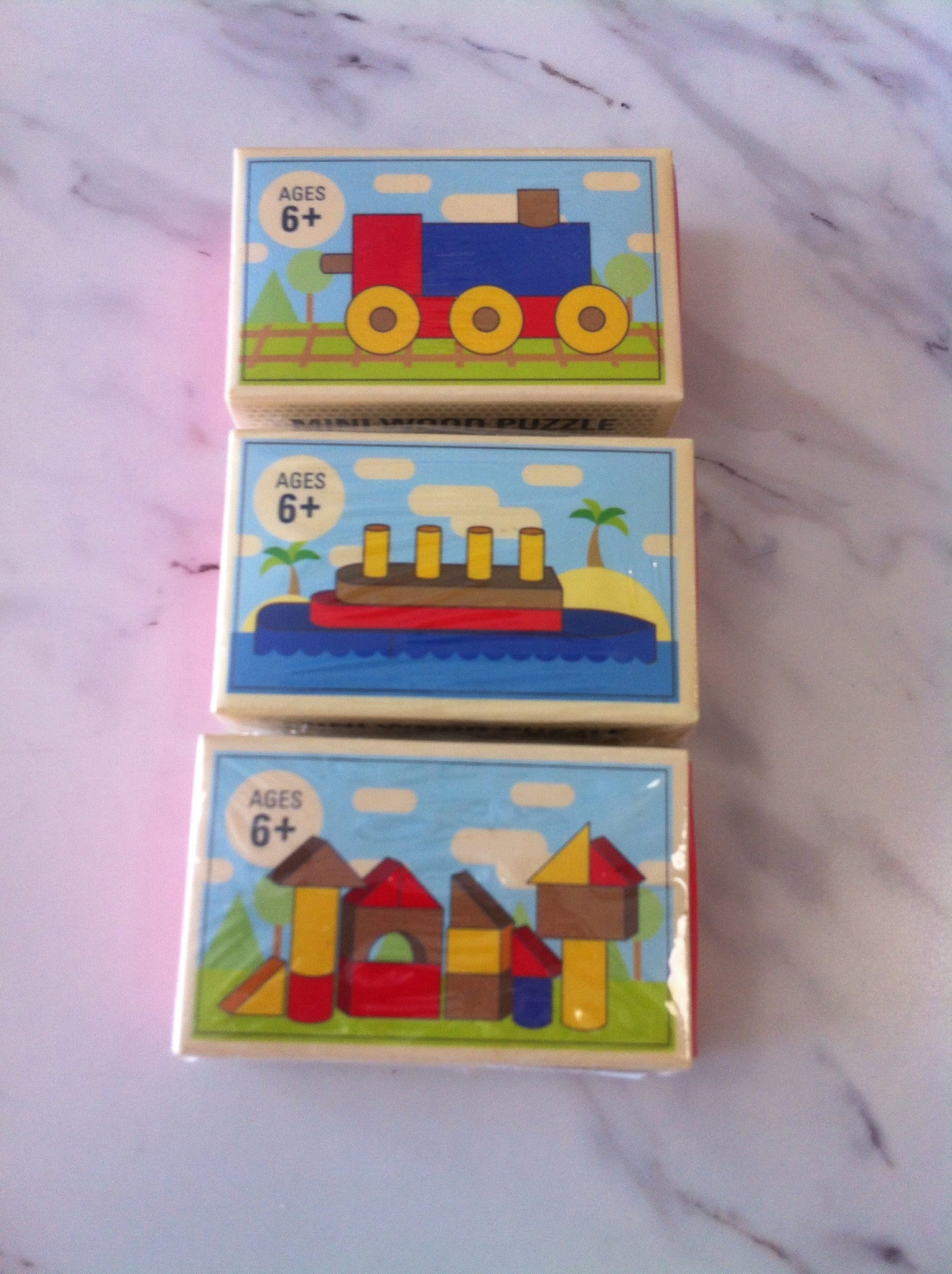 Wooden Matchbox Toys