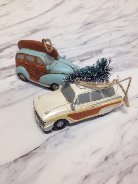 Cars and Trucks Ornaments