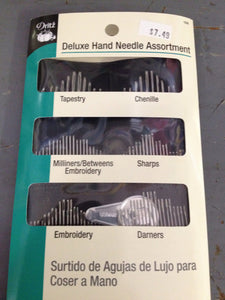 Hand Needle Assortment, Deluxe