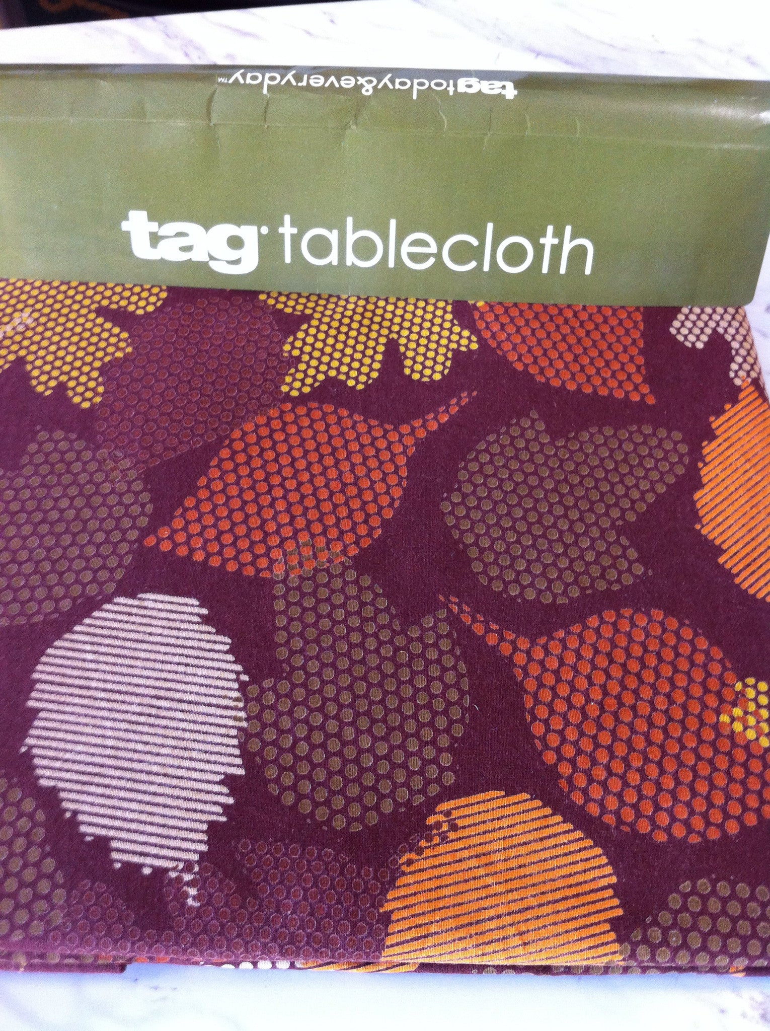 Falling Leaves Tablecloth