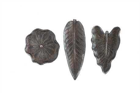 Cast Iron Leaf Trays, mixed styles