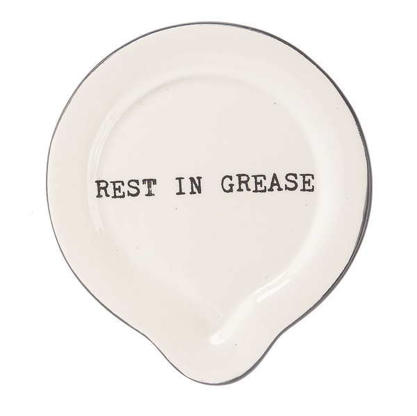 "Spoon Rest ""Grease"""