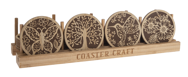 Wooden Laser Cut Coasters