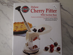 Cherry Pitter with Suction Cup Base