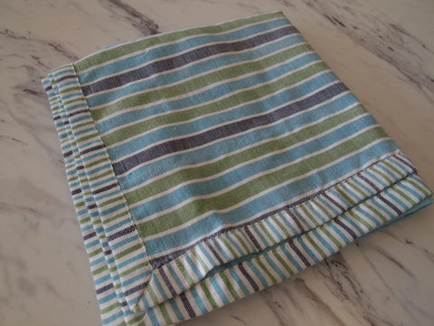 Pastel Stripes Table Runner