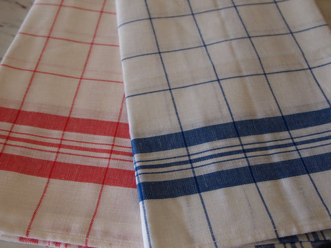 Window Pane Linen Towel