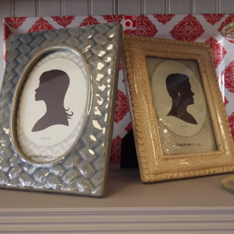 Stoneware Photo Frame
