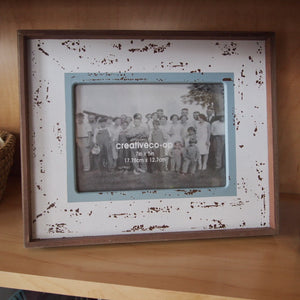 Spatter-paint Photo Frame
